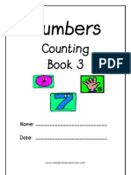 Numbers & Counting Book 3