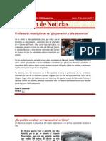 CAP Regional Lima - Resumen de Noticias 20 10 2011
