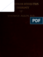 Allin, Lias. The Augustinian revolution in theology. 1911.