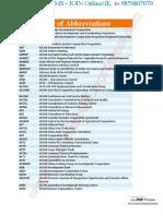 List of Abbreviations - TheOnlineGK