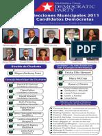 2011 Mecklenburg County Democratic Voter Guide - Spanish Language