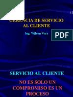 Módulo Gerencia del Servicio Wilson Vera