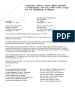 American Jobs Act - Governors Letter of Support 10.11.11