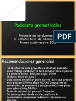 Podcasts gramaticales