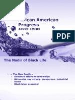 African American Progress