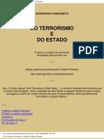 Do Terrorismo e Do Estado