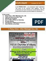 FOCUS Alert 2011.10.21