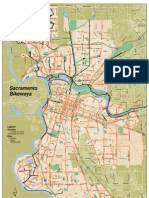 Sacramento Bikeways Map