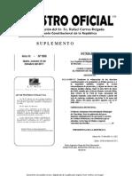 Ley Organica de Regulacion y Control Del Poder Del Mercado