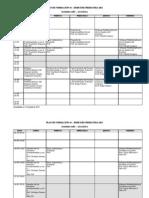 Horario Plan 44 2do Sem 2011