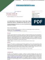 Conciencia Fonológica como zona de desarrollo proximo - Luis Bravo Valdivieso