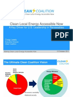 CEN Webinar Presentation - Craig Lewis (Oct. 12, 2011) Clean Coalition