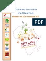 Programme des Rencontre e-Atlas de Cotonou