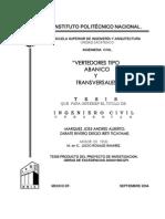 426_vertedora Tipo Abanico y Transversales