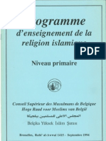 Programme d'enseignement de la religion islamique. Niveau primaire