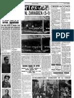 Osas-Zaragoza, 5-1.  (13 marzo 62)