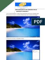 Tutorial de Configuracion de Una Conexion VPN en Microsoft Windows 7