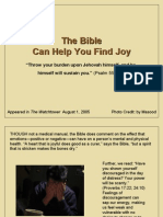 The Bible Can Help You Find Joy