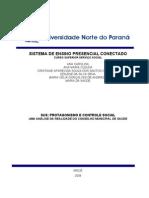 POLÍTICAS SOCIAIS III - SIRLEI FORTES DE JESUS