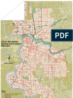 Existing And Proposed Bikeway Map
