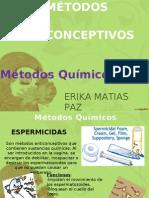 Métodos Anticonceptivos Quimicos