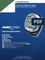 HAC4PRO Instruction Manual