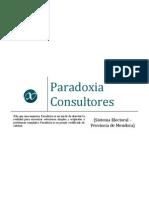 Informe Sistema Electoral Mendoza