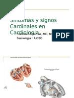 Sintomas Cardinales  en Cardiologia