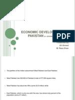 Economic Development in Pakistan (1947 - 1954)