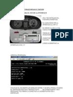 Instrucciones Kilometraje Renault Jaeger