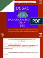 DICCIONARIO DE ESPAÑOL DE LA DIRECTORA DE LA BIBLIOTECA DEL IESO QUERCUS EN EL ENCINAR.