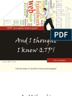And I thought I knew QTP - QTP Concepts Unplugged