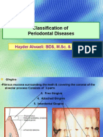 CLASSIFICATION OF PERIODONTAL DISEASES - 3rd year