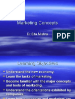 Marketing Concepts - Chap 1