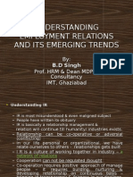 EMERGING INDUSTRIAL RELATION SCENARIO.ppt(IGNOU)