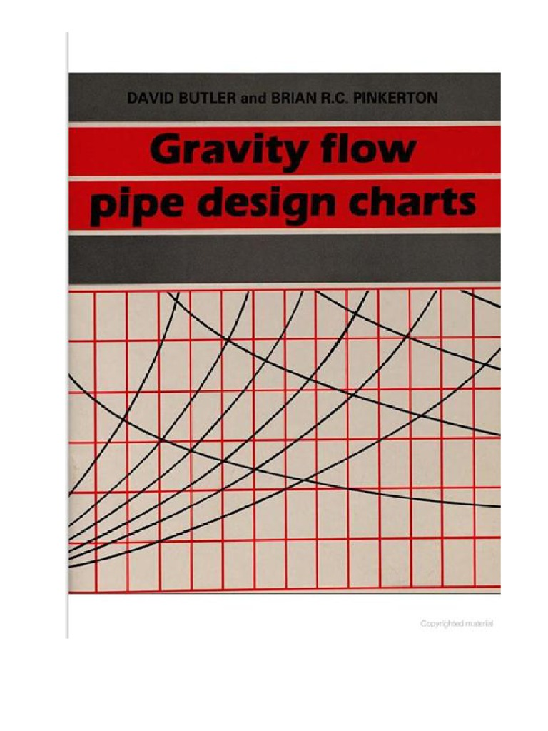Gravity flow pipe design chart gravity flow pipe design charts nvjuhfo Image collections