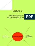 Environmental Factors Which Influence Marketing Decisions