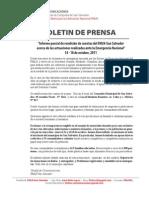 Boletin de Prensa - Ante La cia Oct 2011 - Fmln San Salv