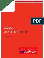Labour Policy Manifesto
