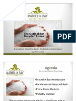 Polyven Recycling Plastics Overview 2011