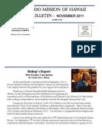 Jodo Mission of Hawaii Bulletin - November 2011