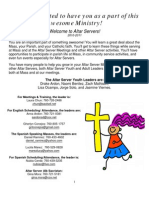 Altar Server Training Manual