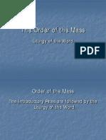 Liturgy of Word
