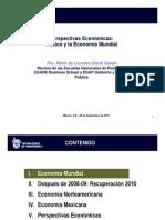 Perspectivas Económicas, México y la Economía Mundial