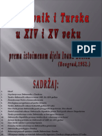 Dubrovnik i Turska u 14. i 15. st