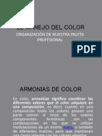 El Manejo Del Color