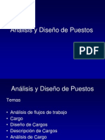 Cargo Diseno Analisis