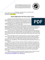 TB Press Release_DHS Chest XRay Update_10.20.11