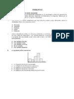 Cuestionario Estadística