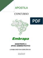 Apostila Completa Embrapa/ Codevasf